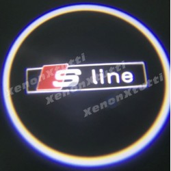 proiettore led audi logo s-line