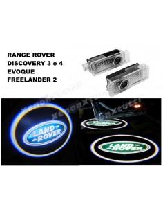 proiettore logo led land rover range rover