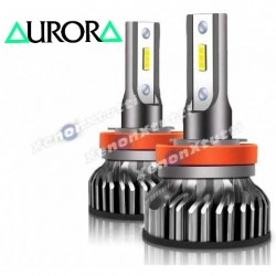 kit led h11 12000 lumen aurora