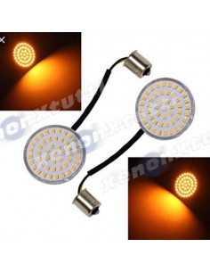 Coppia LED Freccia 2 pollici 1156 PER HARLEY DAVIDSON