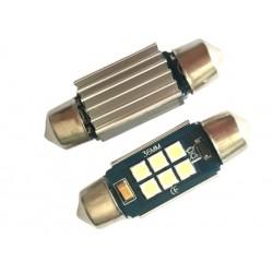 Coppia SILURI 3030 6 36MM LED CANBUS SILURO