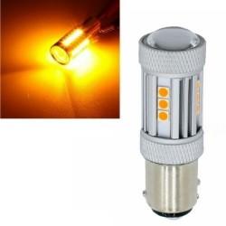 LAMPADA FRECCIA 1156 / BA15S 13 LED ARANCIONE