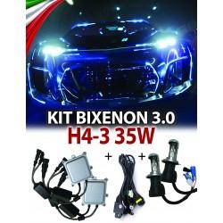 KIT BIXENON CANBUS 3.0 H4-3 AUTO 35W AC