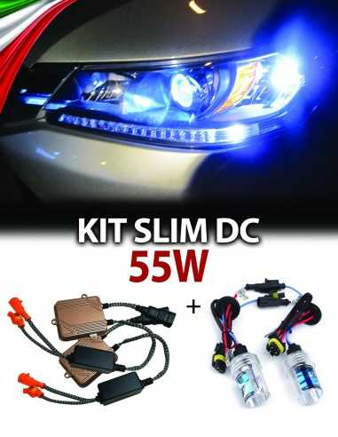 kit xenon slim 55w dc