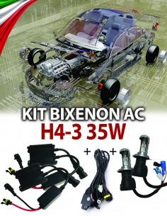 KIT BIXENON SLIM H4-3 AUTO 35W AC