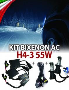 KIT BIXENON SLIM H4-3 AUTO 55W AC