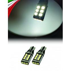 2 LED T10 15 LED CANBUS T10 W5W 800 lumens 6W ODB Canbus - nera