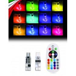 T10 W5W RGB