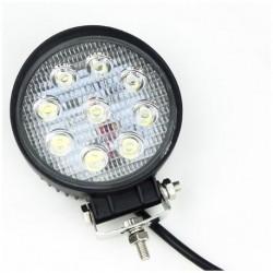 FARO DA LAVORO LED WORKING LIGHT 27W 9/32V PROFONDITA O DIFFUSO