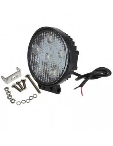 LED WORKING LIGHT 18W 9/32V PROFONDITA O DIFFUSO