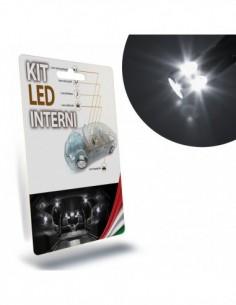 KIT FULL LED INTERNI ALFA ROMEO 147 PLAFONIERA ANTERIORE + POSTERIORE 6000K