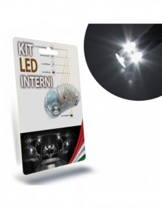 KIT FULL LED INTERNI per NISSAN Micra IV specifico serie TOP CANBUS