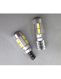 COPPIA 2 LED T10 CANBUS 10 LED 5630