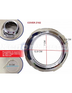 Proiettore HID Bi-Xenon Lenticolare - Mini H1 h7 h4- Retrofit Top Quality