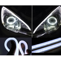 Drl flex decorativo bianco tube