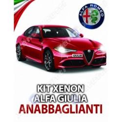 kit xenon anabbaglianti alfa romeo giulia canbus