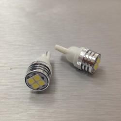COPPIA LED T10 4 LED 2 AANI GARANZIA CANBUS