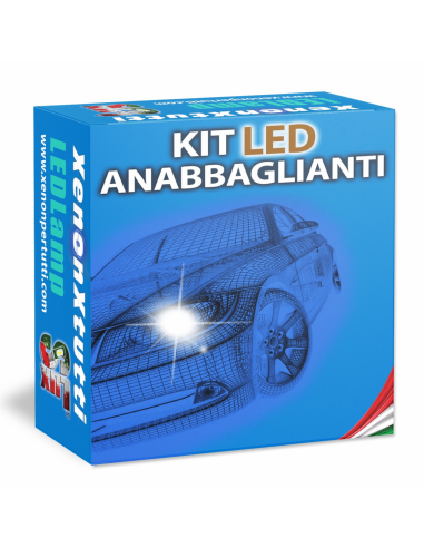 KIT FULL LED ANABBAGLIANTI per AUDI A1 specifico serie TOP CANBUS