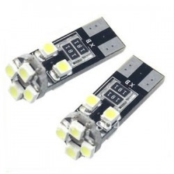 1 Led T10 8 LED SMD 3528 No errore Canbus