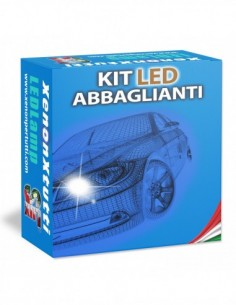 KIT FULL LED ABBAGLIANTI per OPEL Adam specifico serie TOP CANBUS