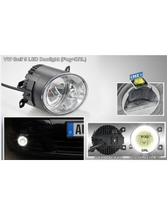 FENDINEBBIA DRL  FOG LED VOLKSWAGEN GOLF