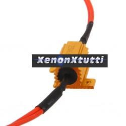 Resistenza 25W 6,8 Ohm Resistenza 12V LED Luce Lampadina Flash Segnale Moto auto freccia