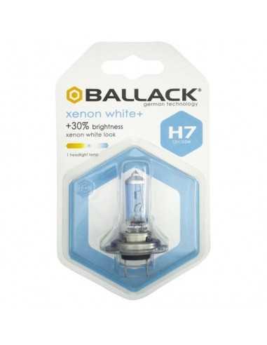 COPPIA LAMPADA ALOGENA H7 BALLACK