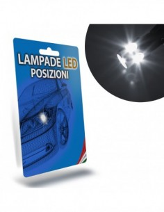 LAMPADE LED LUCI POSIZIONE per LANCIA Ypsilon specifico serie TOP CANBUS