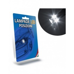 LAMPADE LED LUCI POSIZIONE per SMART Fortwo II specifico serie TOP CANBUS