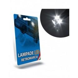 LAMPADE LED RETROMARCIA per AUDI A1 bianche T15 coppia specifico serie TOP CANBUS