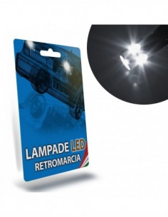 LAMPADE LED RETROMARCIA per FIAT 500 specifico serie TOP CANBUS