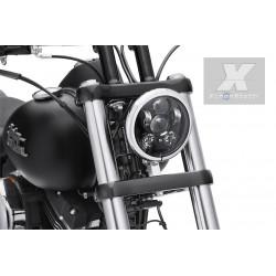 FARO LED JEEP MOTO CUSTOM  6000K BIXENON 3600 lumen  ANGEL BIANCO