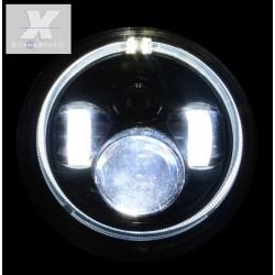 KIT DX E SX  LED JEEP  6000K BIXENON 3600 lumen  ANGEL BIANCO