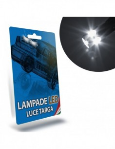 LAMPADE LED LUCI TARGA per FIAT Panda III specifico serie TOP CANBUS
