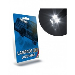 LAMPADE LED LUCI TARGA per SMART Fourfour II 453 specifico serie TOP CANBUS
