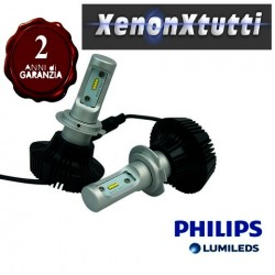 KIT FULL LED H7 8000 lumen PHILIPS