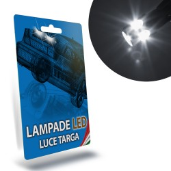 LAMPADE LED LUCI TARGA per SMART Fortwo II 451 specifico serie TOP CANBUS