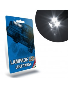 LAMPADE LED LUCI TARGA per CITROEN c3 III specifico serie TOP CANBUS