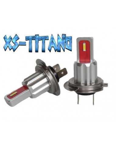 xs titano lampade led h7 stessa dimensione originale