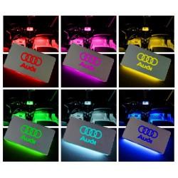 Placche Led Rgb Con Logo Audi
