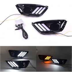 JEEP COMPASS FRECCIA SEQUENZIALE + LUCE DIURNA LED BIANCO ARANCIO sequential turn light and daytime running light