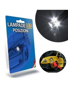 FIAT 500 Restyling LAMPADE LED LUCI POSIZIONE Diurna plug & play