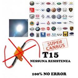Led T15 Super Canbus W16w 16w Reali No Error 100%