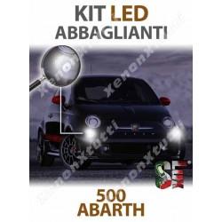 KIT FULL LED ABBAGLIANTI per ABARTH 500 ABARTH 595 695 specifico serie TOP CANBUS