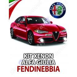 kit xenon fendinebbia alfa romeo giulia