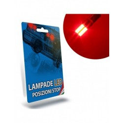 Kit Full Led Posizione E Stop Per Chevrolet Spark 2 M400 Specifico Serie Top Canbus