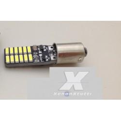 COPPIA BA9S LED 24 SMD 4014 SUPER CANBUS