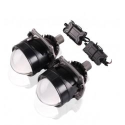 Proiettore Lenticolare 2,5 Pollici LED Bi-Led 40w Faro Lente Ultra Compatto