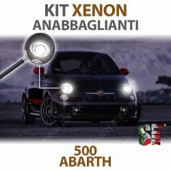 Lampade Xenon H7 Anabbaglianti per 500 ABARTH 595 695 con tecnologia CANBUS