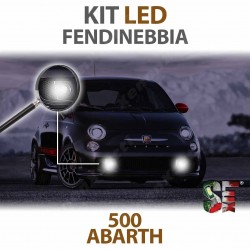 lampade luci led fendinebbia 500 abarth 595 695 canbus lampadine illuminazione bulbi led
